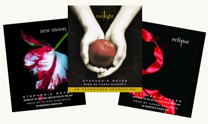 Twlight, New Moon and Eclipse Audio Books on CD Giveaway