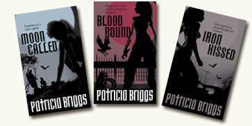 Patricia Briggs' UK Book Covers