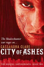 City of Ashes by Cassandra Clare Cover icture