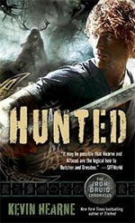 Hunted - Iron Druid Chronicles Cover Picture