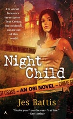 NIght Child by Jes Battis Cover Picture