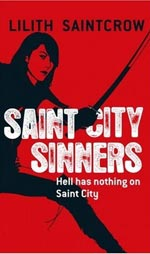 Saint City Sinners by LIlith Saintcrow Cover Picture