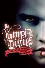 The Vampire Diaries by L.J. Smith Cover Picture