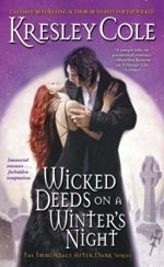 Wicked Deeds On A Winter's Night by Kresley Cole Cover Picture